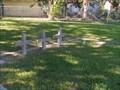 Image for Four Concrete Crosses - La Marque Cemetery, La Marque, TX