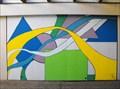Image for Geometric mural - Monterey, California