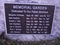 Image for Memorial Garden - Quincy Fire Department - Quincy IL