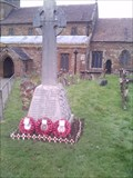 Image for Combined War Memorial, St.Mary the Virgin's Churchyard, Woodford Halse, Northamptonshire.