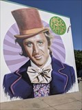 Image for Einstein, The Hulk, Willy Wonka and Otis Redding mural - OKC, OK