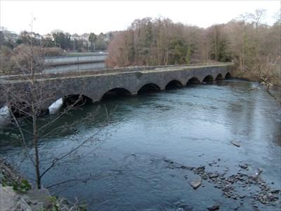 Aberdulais Aqueduct, Neath, Wales.