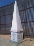 Image for US/Mexico Boundary Marker 258 - Tijuana, BC