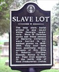 Image for Slave Lot Historical Marker - old Marietta Cemetery in Marietta, GA