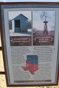 Image for Blankenship Cowchip House and Pipe Raymond Vaneless Windmill -- Ranching Heritage Center, Lubbock TX
