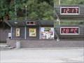 Image for Ukazatel data, hodin a teploty na zastávce v Dolní Belé, PS, CZ, EU