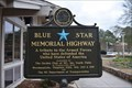 Image for Blue Star Memorial Highway Plaque Rest Area I-95 NB, Robeson County, NC