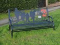 Image for WW1 Memorial Bench - Barlaston, Stoke-on-Trent, Staffordshire, UK.