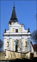 Image for Kostel Všech svatých / Church of All Saints - Libochovice (North Bohemia)