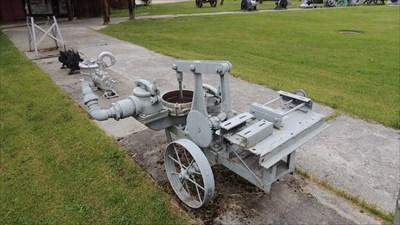 Marlo Mud Hog Mud Pump - Silverton, BC - Preserved Machines