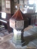 Image for Baptism Font, St Mary and St Hardulph - Breedon on the Hill, Leicestershire