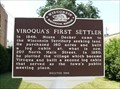 Image for Viroqua's First Settler Historical Marker