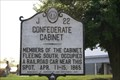 Image for Confederate Cabinet, Marker J-22