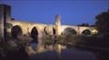 Image for Pont Vell de Besalú — Besalú (Girona), Spain