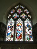 Image for Stained Glass Windows - St Andrew - Bramfield, Suffolk