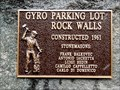 Image for Gyro Parking Lot Rock Walls - 1961 - Trail, BC