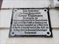 Image for Ernst Thälmann Wohnhaus - Hamburg, Deutschland