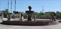 Image for English Village Fountain Lions -- Lake Havasu AZ