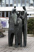 Image for Sculpture in front of University Library - Aachen, NRW, Germany