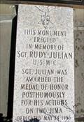 Image for Sgt. Rudy Julian Monument - Sturbridge, Massachusetts