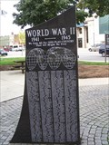 Image for World War II Memorial at Dearborn City Hall - Michigan