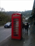 Image for Red Telephone Box, North Parade - Matlock Bath, Derbyshire