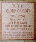 Image for 1912 - St. Barnabas Anglican Church Tower - Calgary, AB