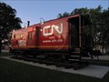 Image for Canadian National caboose - North Fond du Lac, Wisconsin, USA