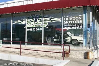 dunton motors dream machines kingman az antique and classic car dealerships on. Black Bedroom Furniture Sets. Home Design Ideas