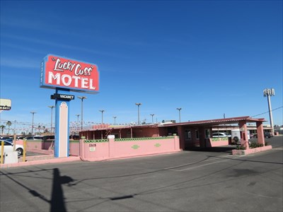 Lucky Cuss Motel, Las Vegas, Nevada