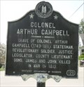 Image for Colonel Arthur Campbell - Middlesboro, KY - 129