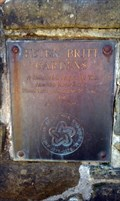Image for Peter Britt Gardens Bicentennial Plaque - Jacksonville, OR