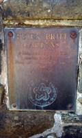 Image for Peter Britt Gardens Bicentennial Plaque - Jacksonville, OR