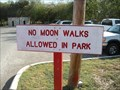 Image for No Moon Walks Allowed In Park - San Antonio, TX, USA