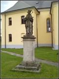 Image for Socha sv. Jana Nepomuckého - Dobrá, Czech Republic