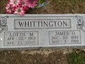 Image for 104 - Lottie M. Whittington - Butterfield, MO USA