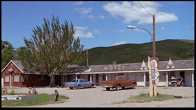 "In the movie ""Thunderheart"" the Redwood Motel in Wasta, SD was renamed the A-1 Motel."