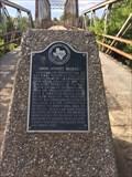 Image for First Bridge Spanning the Wichita River at Ohio Street - Wichita Falls, TX