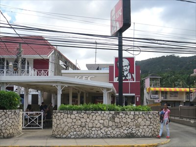 Kfc Ocho Rios Jamaica Kentucky Fried En Restaurants On Waymarking