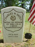 Image for Recipient of the Medal of Honor - Charles H. Depuy - Kalkaska, MI