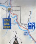 Image for Slocan Valley Rail Trail Map - Passmore, BC