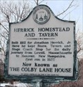 Image for Herrick Homestead and Tavern