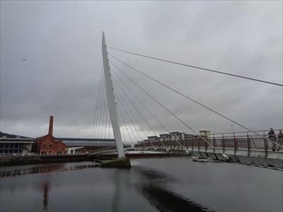 Swansea Maritime Quarter Bridge