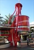Image for Giant Coke Bottle - Universal City Walk - Orlando, Florida, USA.