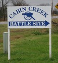 Image for Cabin Creek Battlefield - Big Cabin, Oklahoma