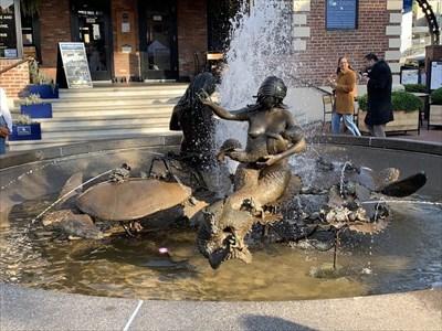 Two Mermaids Sculpture, San Francisco, California