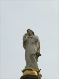 Image for Virgin Mary with infant Jesus at the top of Mariensäule, Linz am Rhein - RLP / Germany