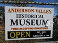 Image for Anderson Valley Historical Museum - Boonville, CA
