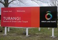 Image for Welcome to Turangi.  Central Plateau. New Zealand.