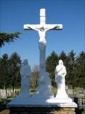 Image for St. Joseph Catholic Church  Cemetery Cross - Elizabethtown, Illinois